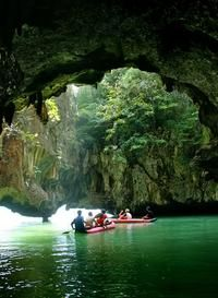 Phang Nga Bay Sea Cave Tour from Phuket Including Lunch and Dinner
