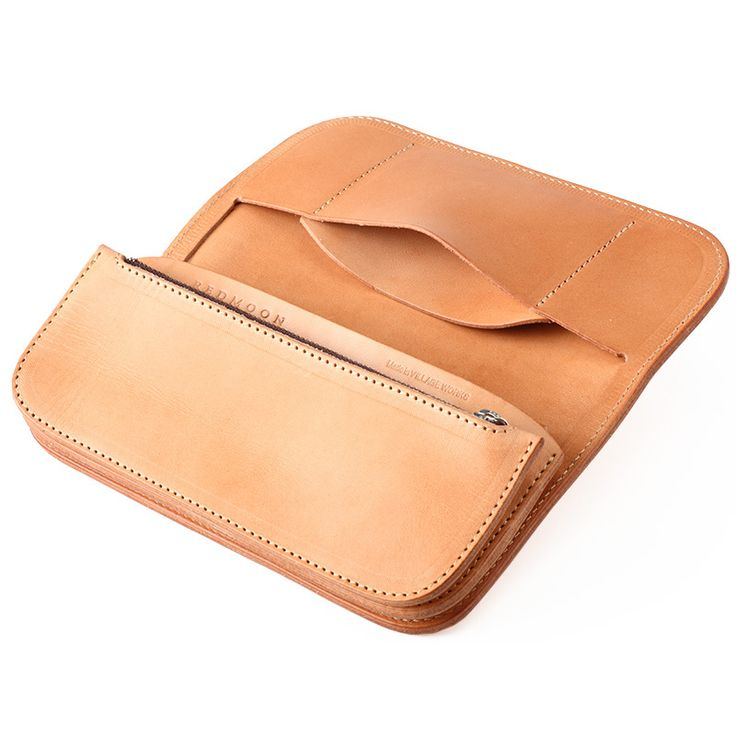 redmoon vegetable tanned leather wallet