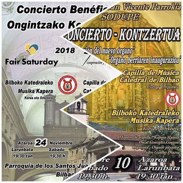 Concierto Por La Inauguración Del Nuevo órgano De La Parroquia De San Vicente Mártir De Sodupe El Sábado 10 De Noviembre A Las 19 30h Bilbao Musica Pictures