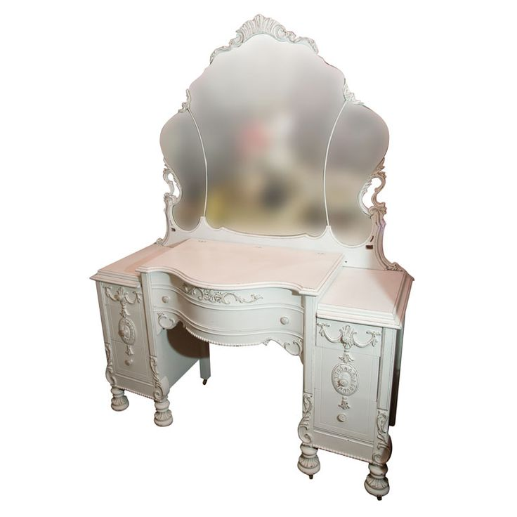 VICTORIAN VANITY-DESK...this reminds me of my first dressor i ever had as a kid. Love it!!!