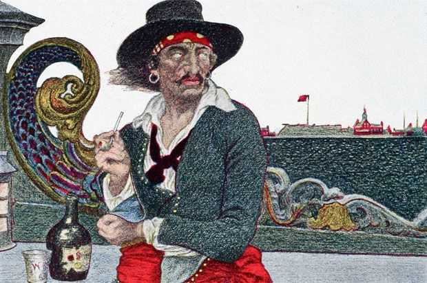 Captain KiddOnce a respected privateer, Captain William Kidd set sail in 1696 with the assignment of hunting down pirates in the Indian Ocea...
