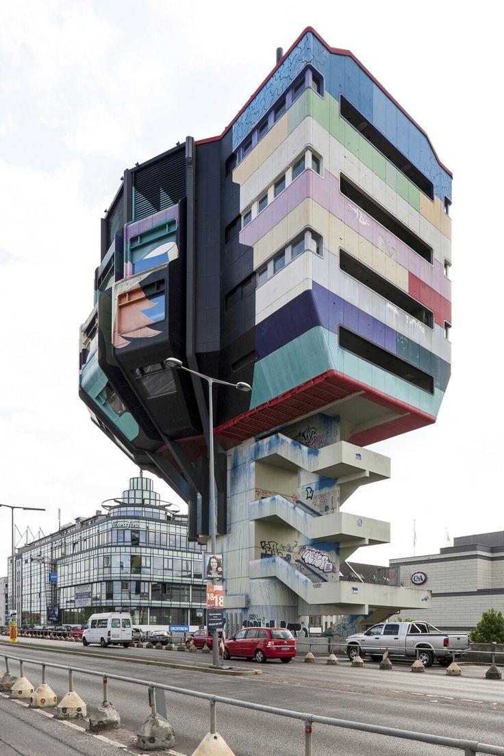 Steglitzer Bierpinsel, Berlin, East Germany (1972-1976).
