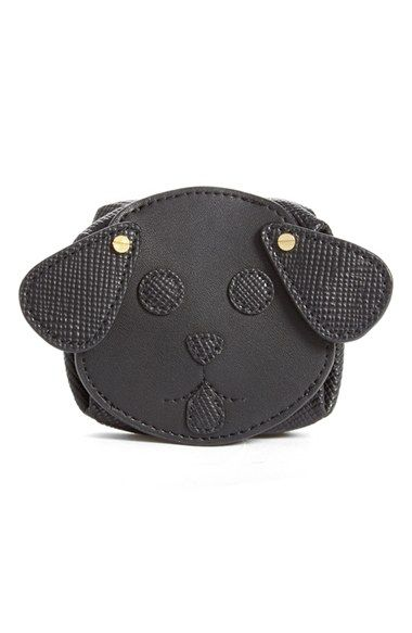 Opening Ceremony 'Dog' Saffiano Leather Coin Purse available at #Nordstrom