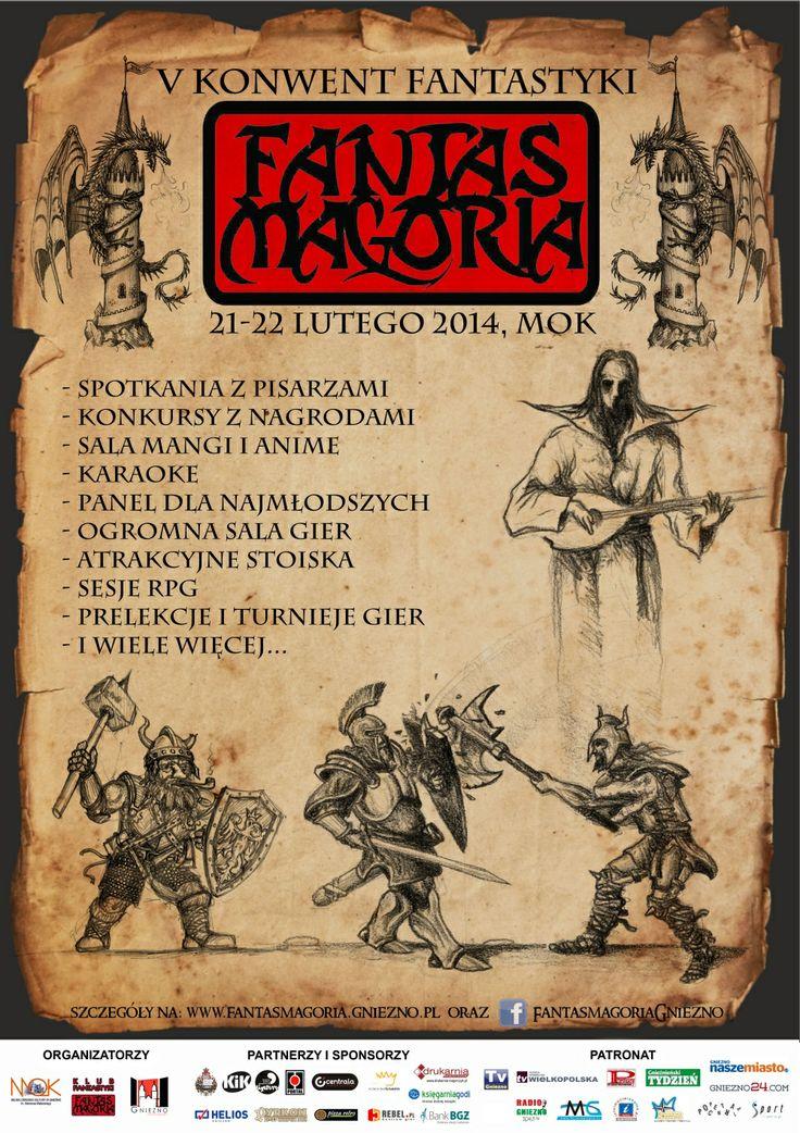 Fantasy Convention in Gniezno! / V Konwent Fantastyki Fantasmagoria w Gnieźnie!