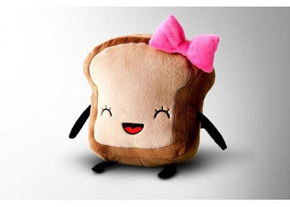 Mrs. Little Bread Slice! Get her in Etsy!
