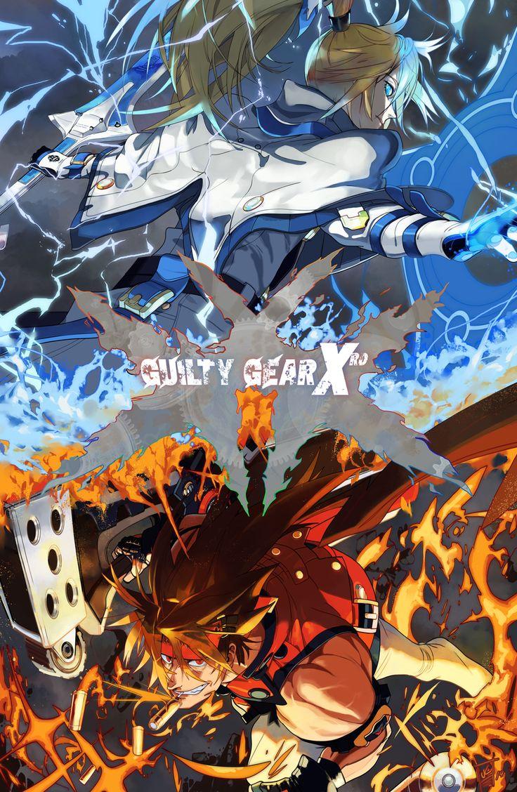 Guilty Gear Xrd by OverlordJC on DeviantArt