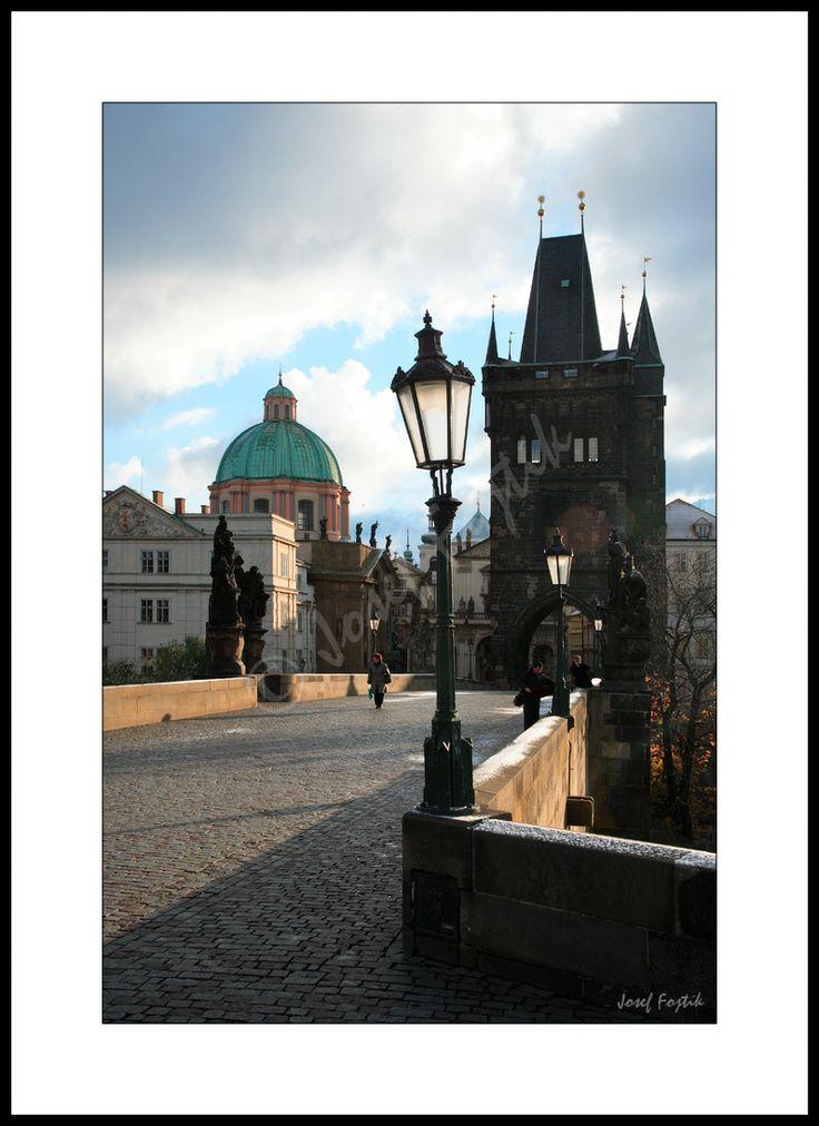 Fotoobraz - Karlův most, Praha, Česko. Foto: Josef Fojtík - www.fotoobrazarna.cz - https://www.facebook.com/Fotoobrazarna.cz?ref=hl
