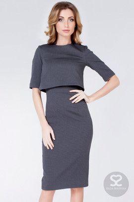 фото платья офисные