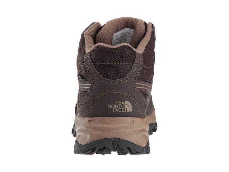 The North Face Kids Hedgehog Hiker Mid WP (Little Kid/Big Kid) Boy's Shoes Brunette Brown/Sepia Brown