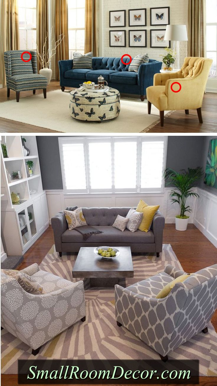 Small Living Room Furniture Arrangement, How To Layout Furniture In Small Living Room