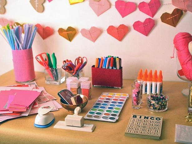 Host a Valentine's Day Card-Making Party! Did this @Jennifer Banks Morris house