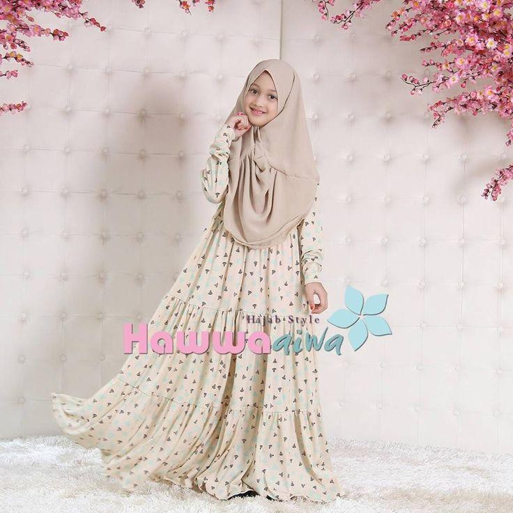 Baju Muslim Untuk Anak Cantik Loh Cek Di Web Yuk Hijab Fashion For Kids Pinterest Kid