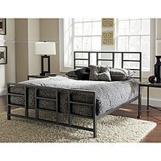 1000+ ideas about Metal Bed Frame Queen on Pinterest | Bed Frame ...