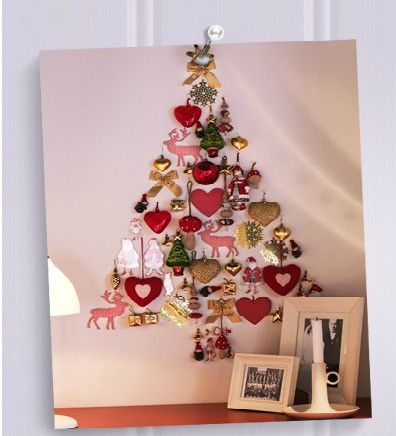 i'm going to the dollar store and making this. so cute! cheap xmas decor!