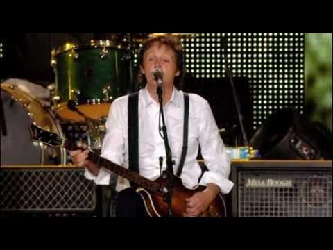 """Paul McCartney """"A Day In The Life/Give Peace A Chance/Let It Be/Live And Let Die"""" Live-2009"""