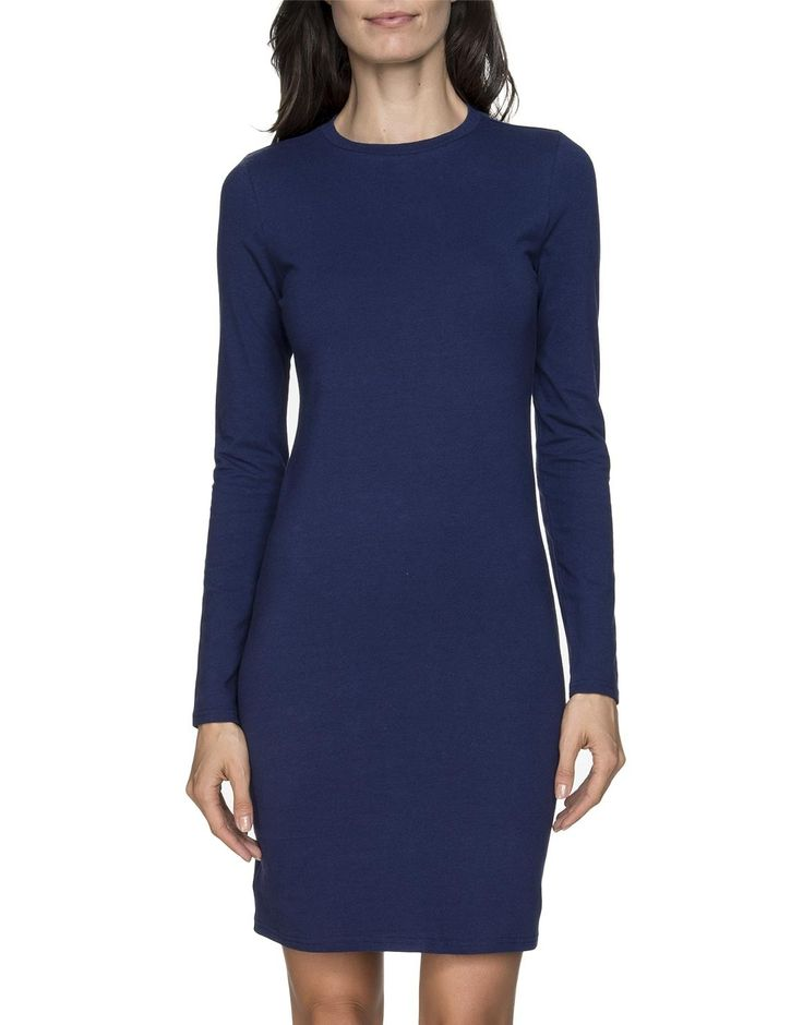 Crewneck Body Con Dress