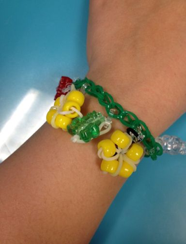 Add cute charms to your #bandaloom bracelet.