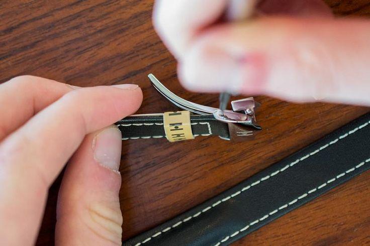Closer Look: Hirsch Navigator Deployment strap for Breitling – WatchObsession #Breitling #Professional #InstrumentsforProfessionals chronomat watchstrap leather handmade