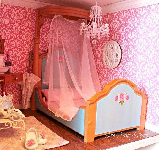 American Girl Doll Bedroom: 17 Best Images About Doll Houses And Decorating Ideas On