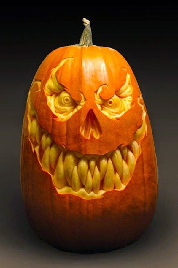 cool pumpkin carving ideas pumpkin carving ideas 2014 crazy and creative jack o lanterns - Cool Halloween Pumpkin Designs