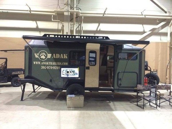 adak adventure trailers off grid traveling 009   Man Designs, Builds and Produces Off Grid Micro Cabin Trailer