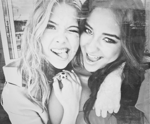 ASHLEY BENSON & SHAY MITCHEL
