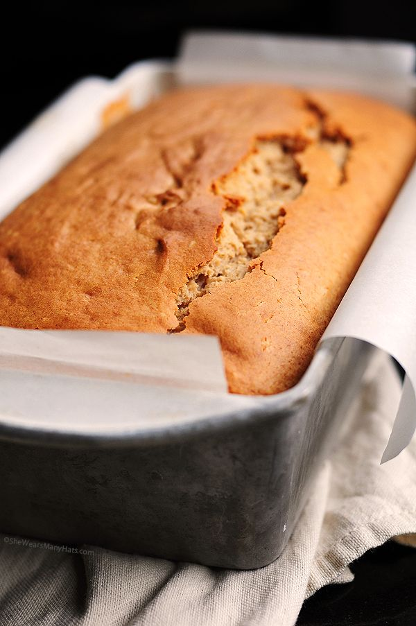 Are you serious? Peanut Butter Bread Recipe....so trying this!