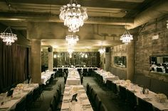 Sidedoor Contemporary Kitchen and Bar in Ottawa is the ideal venue for a romantic celebration.