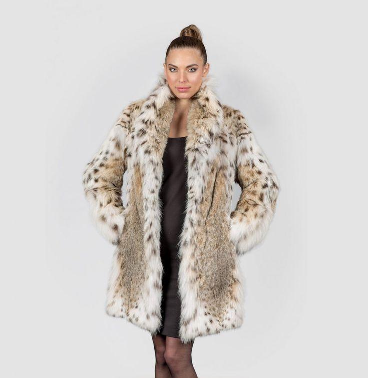 Natural Lynx Fur Jacket