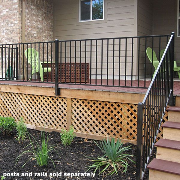 Fe26 Fascia Mount Bracket By Fortress Railings Outdoor Building A Deck Deck With Pergola