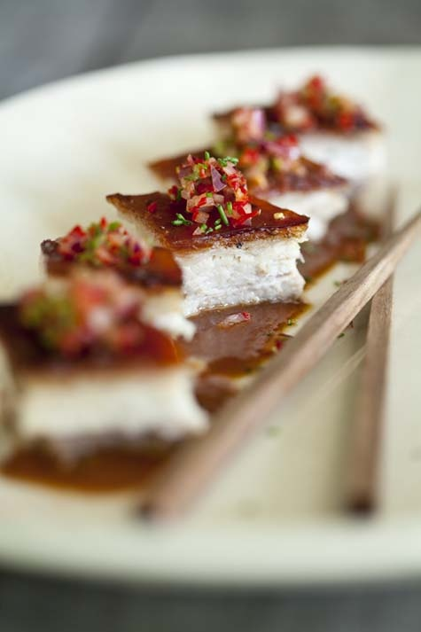 Crispy pork belly with spicy miso sauce - NoMU Recipe Mailer No. 63