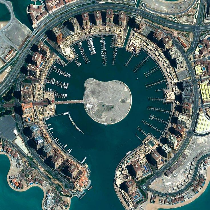 Beautiful, Troubling Photos Show Our Planet as Astronauts See It | The Pearl, Doha, Qatar   Benjamin Grant/DigitalGlobe  | WIRED.com
