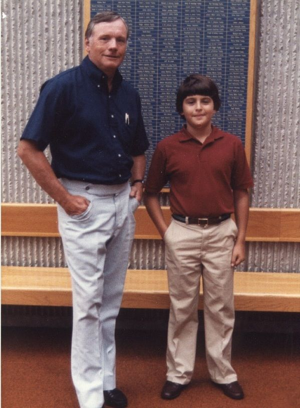 neil armstrong and father - photo #27