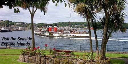 The Waverly. The last ocean going paddle steamer in the world. Sails out of Glasgow