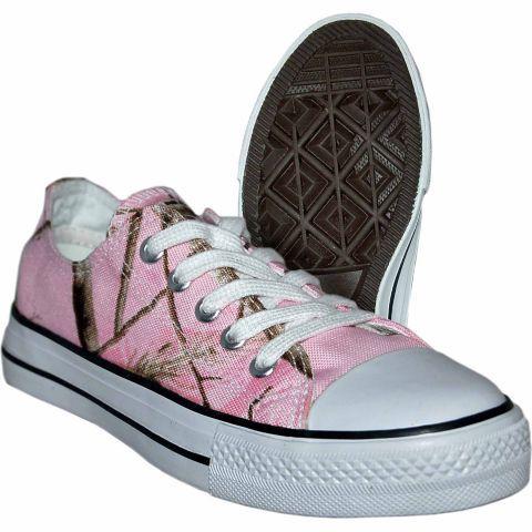Itasca Girls Sneaker, Realtree Pink Camo