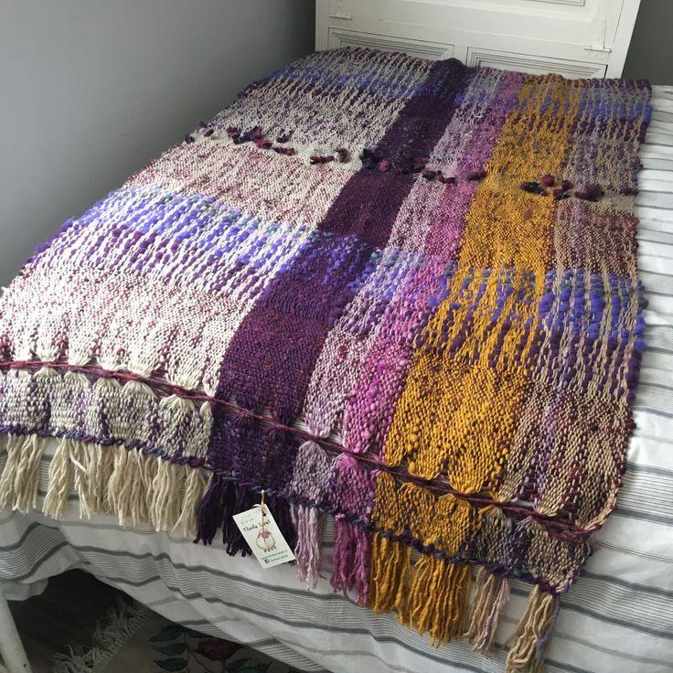 Piecera de 2 plazas 100%lana de Tilonka Lanas, CLP 120.000