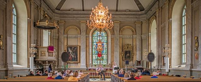 Vaxholm kyrka, by Bengt Nyman