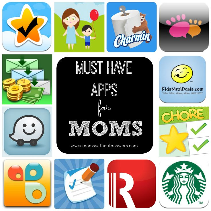 Must Have Apps For Moms divided into 3 categories....1) To Keep You Organized 2) To Keep You On Budget and 3) To Keep You Sane!