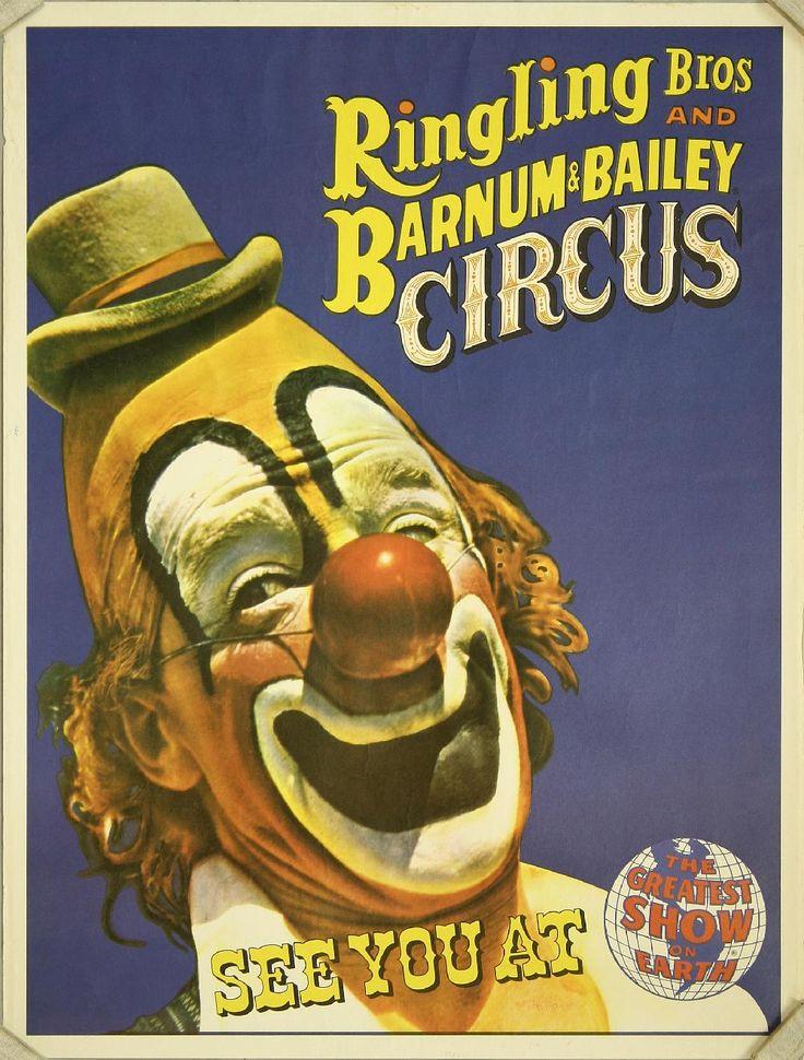 vintage circus posters | Samuel Owen Gallery > Vintage Posters > Circus & Magic > Ringling Bros ...