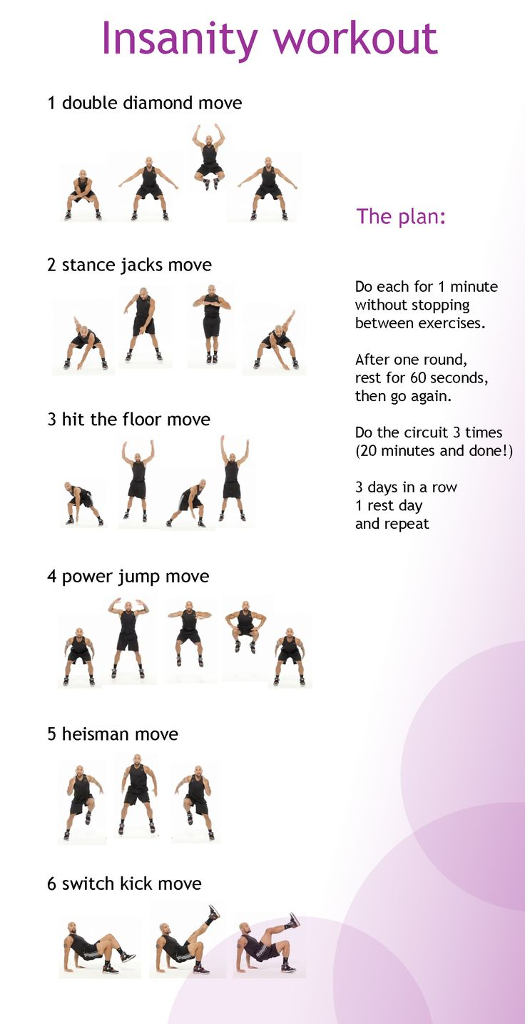 insanity workout made simple...have to try this after Baby Kabrin comes in April! Looks like a great way to get in shape for summer, post-baby!