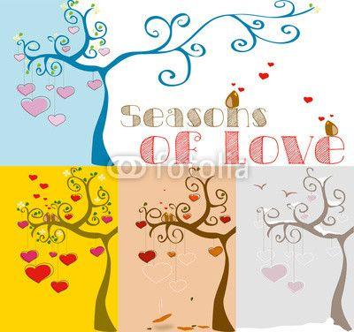 le stagioni dell'amore!