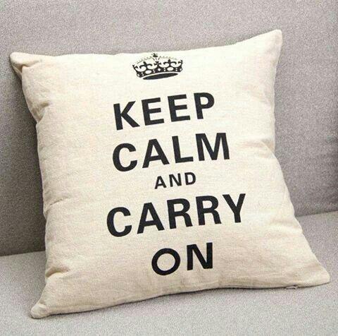 Cojin Keep Calm