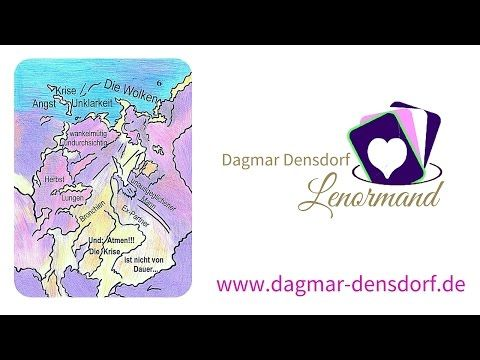 Lenormandkarten legen lernen | Dagmar Densdorf Lenormand | Lenormandkarte die Wolke - YouTube
