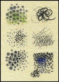 "Ilze Aviks | ""Density Exercises"" 2005 | Cotton thread and ink on linen | Photo: Ilze Aviks"