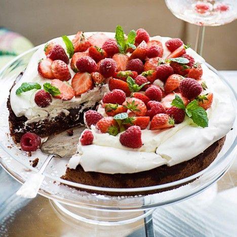 Brownie-marenkikakku - Reseptit - Kodin Kuvalehti