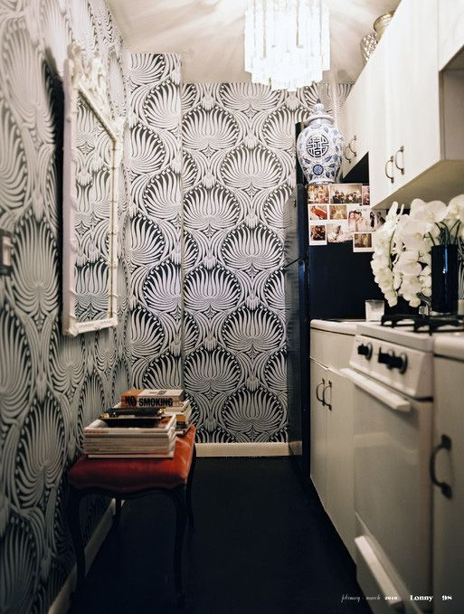 Farrow & Ball Lotus Wallpaper | The English Room