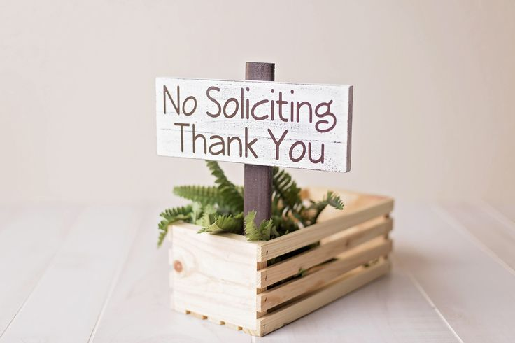 No Solicitation Sign, No Soliciting Sign, No Soliciting Yard Sign, Flowerbed Sign, Yard Stake Sign, Garden Sign, Garden Decor Flowerbed Sign by ExpressionistaB on Etsy https://www.etsy.com/listing/156267125/no-solicitation-sign-no-soliciting-sign