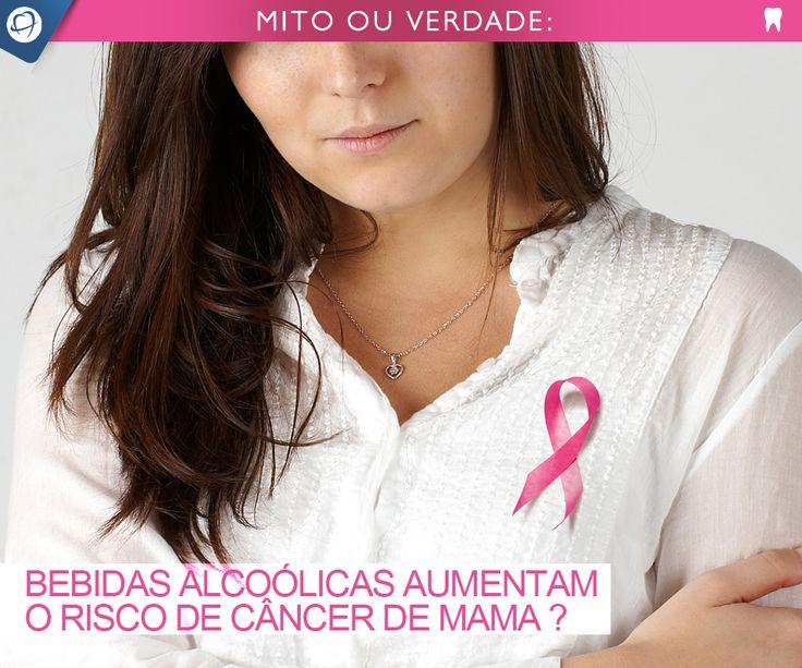 """VERDADE!  Basta uma dose de bebida alcoólica por dia para aumentar o risco das mulheres desenvolverem câncer de mama em 5%. A conclusão é de uma revisão de 113 estudos feita por pesquisadores da Alemanha, França e Itália. """"Os resultados indicam que mulheres com elevado risco de desenvolver câncer de mama (como as que têm casos na família) devem evitar bebidas alcoólicas ou consumi-las apenas ocasionalmente"""", afirmaram os pesquisadores.   Fonte: http://abr.ai/1sUX8oV"""