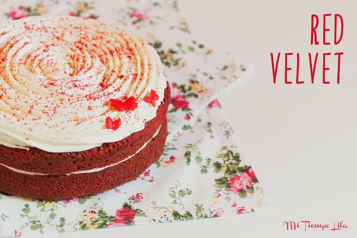 Mi Tiempo Lila: Tarta Red Velvet