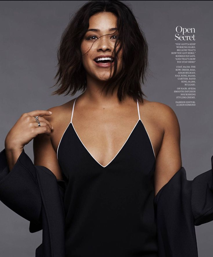 "ginarodriguez-news: ""Gina Rodriguez for Marie Claire - January 2017 """
